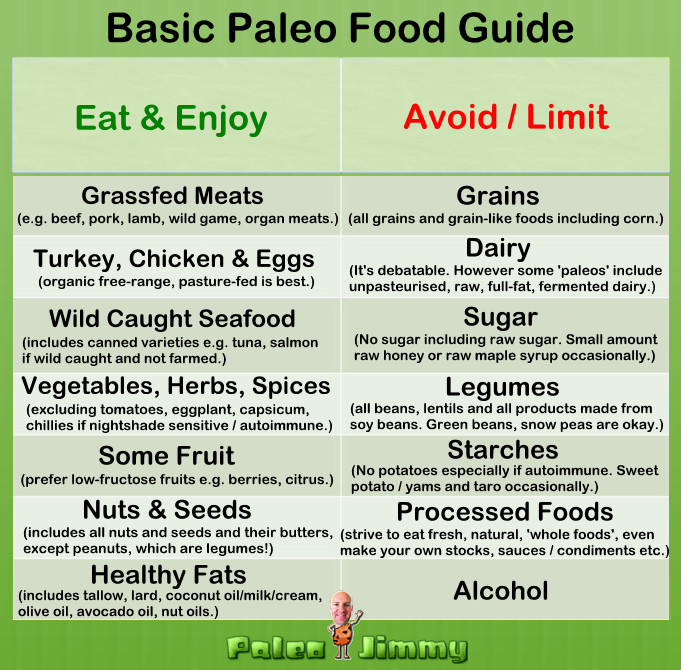 Paleo Diet Rules  Can the Paleo Diet fix autoimmune disease