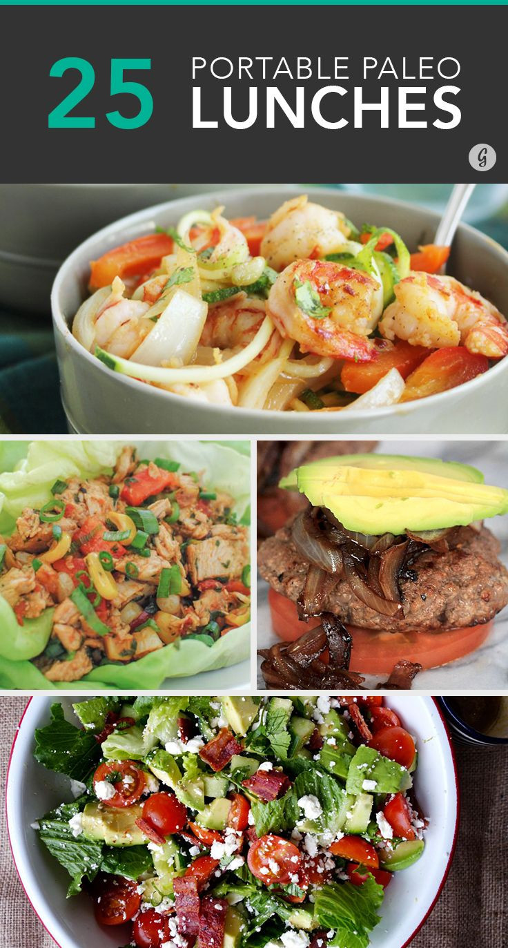Paleo Dinner Recipes  25 Paleo Lunches to Brown Bag to Work