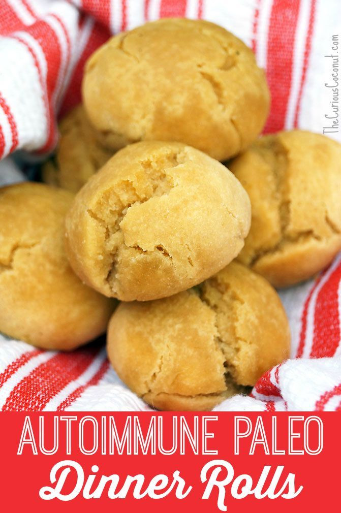 Paleo Dinner Rolls  196 best images about AIP Diet Candida Approach on