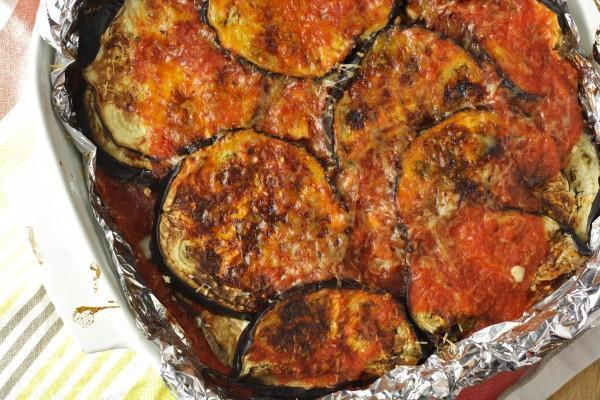 Paleo Eggplant Parmesan  Healthy Eggplant Parmesan Baked Vegan Gluten Free Paleo