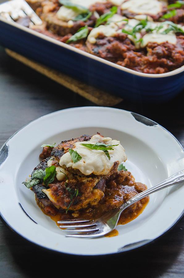 Paleo Eggplant Parmesan  So…Let s Hang Out – Paleo Eggplant Parmesan With Pork Ragu