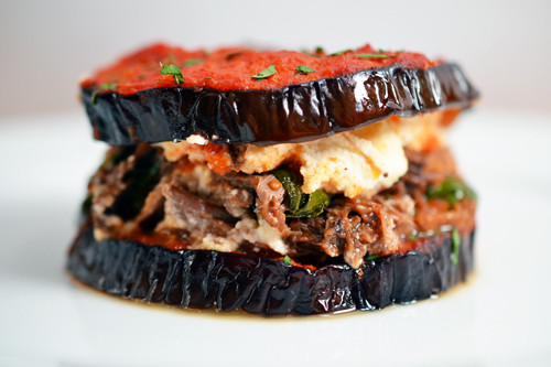 Paleo Eggplant Parmesan  paleo eggplant parm