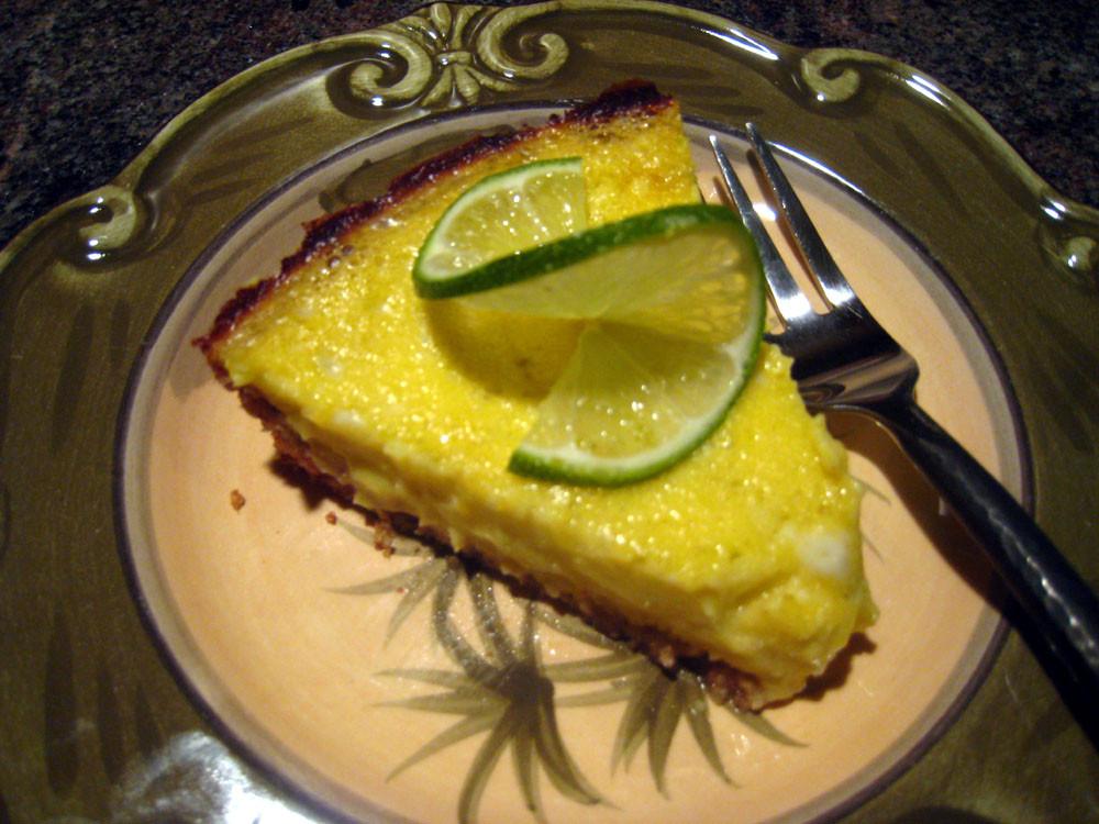 Paleo Key Lime Pie  Paleo Zone Kick A$$ Paleo Key Lime Pie