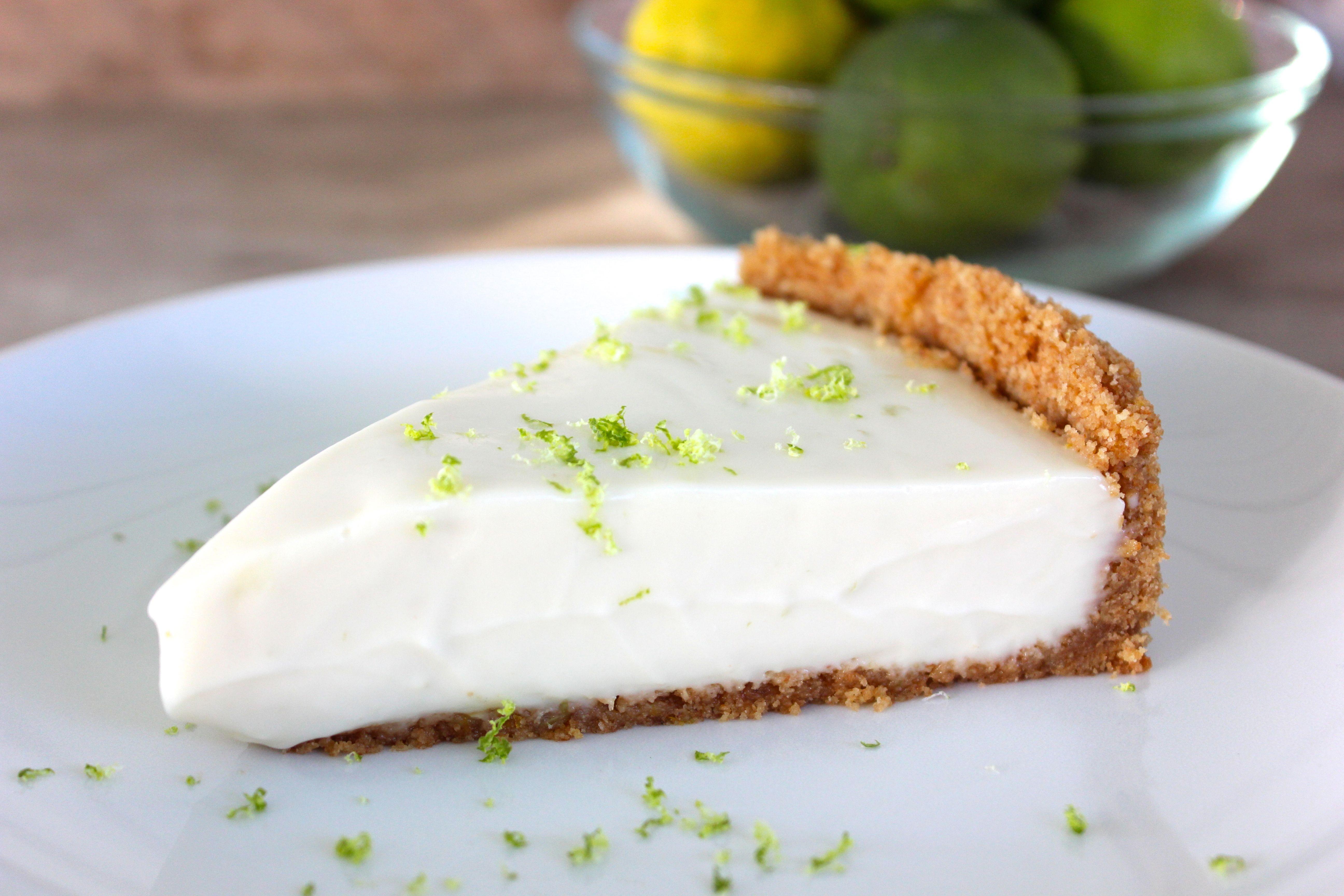 Paleo Key Lime Pie  Paleo Dessert No Bake Key Lime Pie