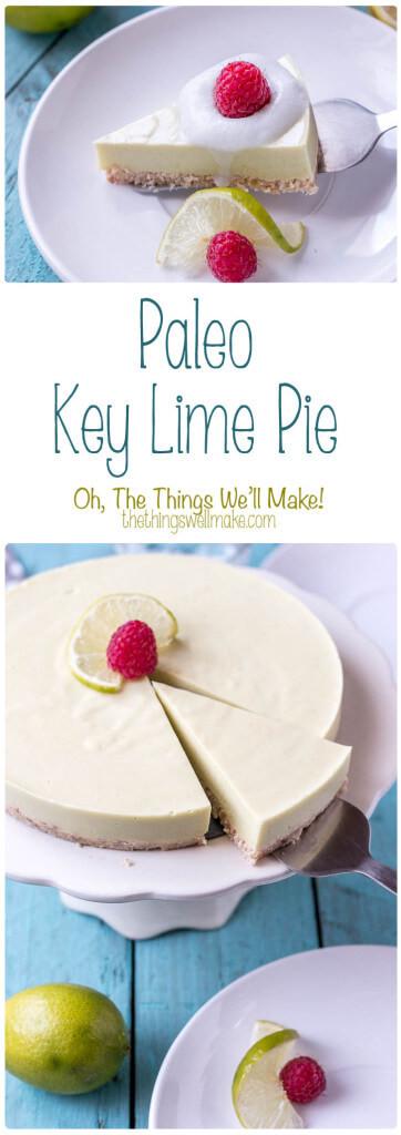 Paleo Key Lime Pie  Paleo Key Lime Pie Rubies & Radishes