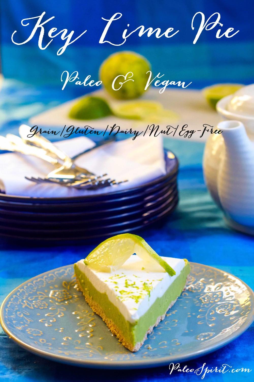 Paleo Key Lime Pie  Paleo Key Lime Pie