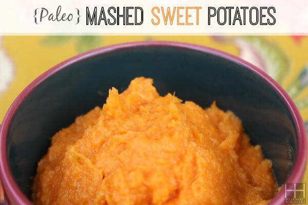 Paleo Mashed Potatoes  Paleo Mashed Sweet Potatoes Recipe Hollywood Homestead