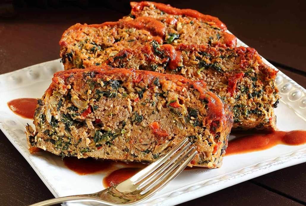 Paleo Meatloaf Recipe  Easy Paleo Meatloaf Recipe with Veggies