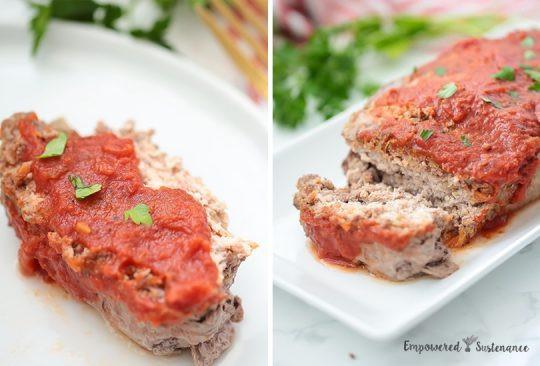 Paleo Meatloaf Recipe  Blog Empowered Sustenance