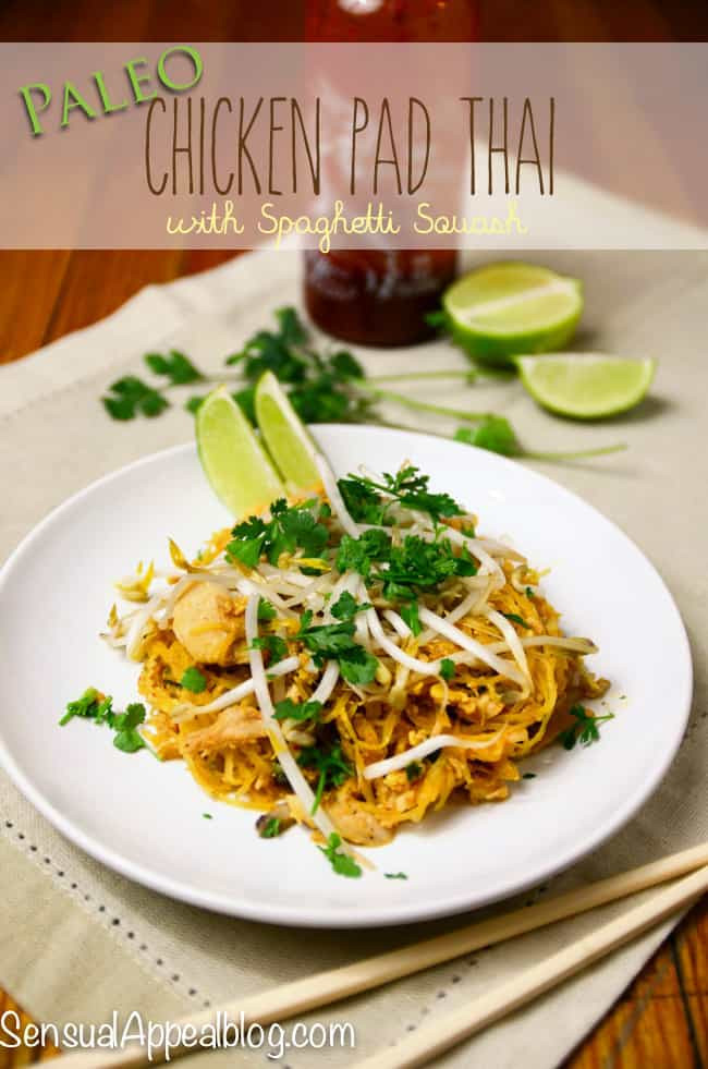 Paleo Pad Thai  Paleo Chicken Pad Thai Inspired by Mariano s Tastemakers