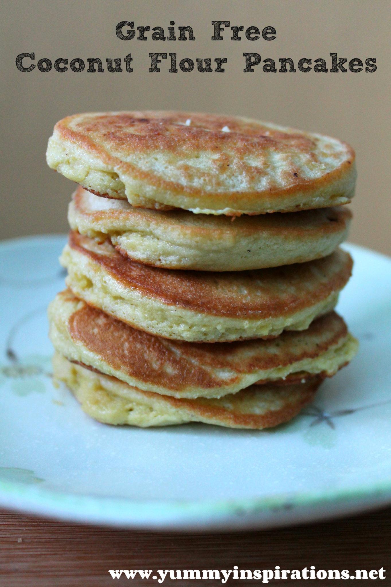 Paleo Pancakes Recipe  Grain Free Coconut Flour Pancakes GAPS Paleo