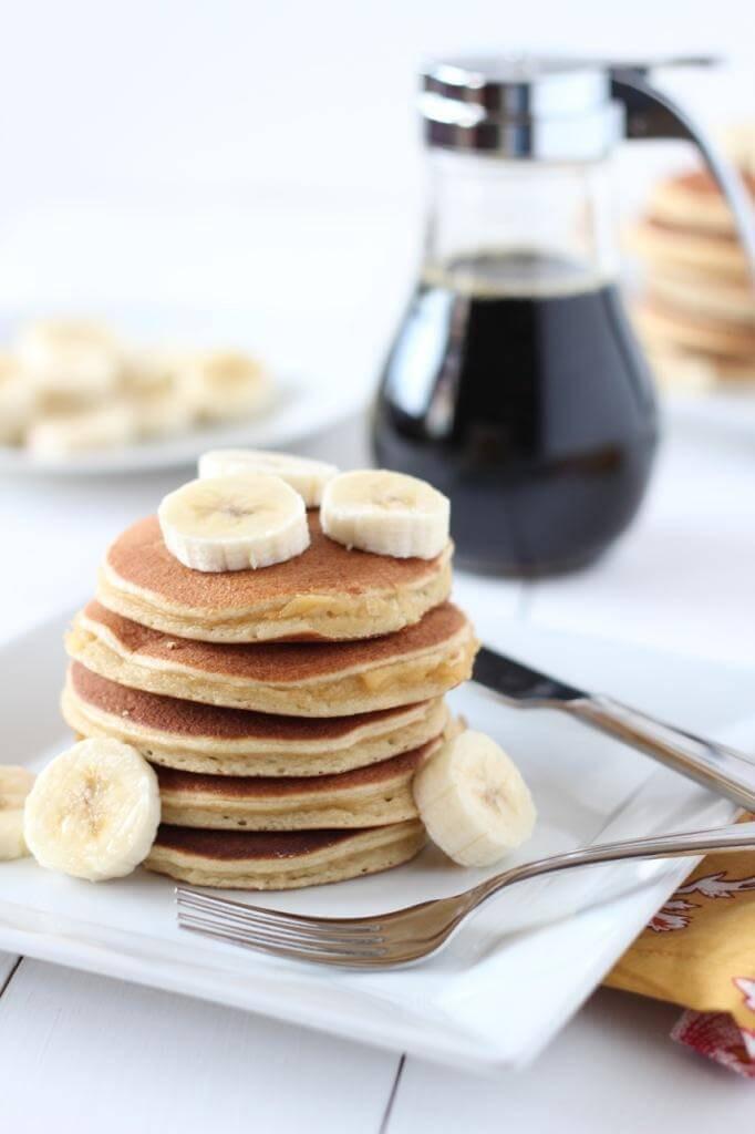 Paleo Pancakes Recipe  Classic Paleo Pancakes Downshiftology