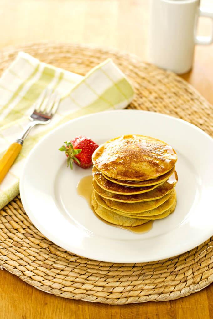 Paleo Pancakes Recipe  Easy Paleo Banana Pancakes