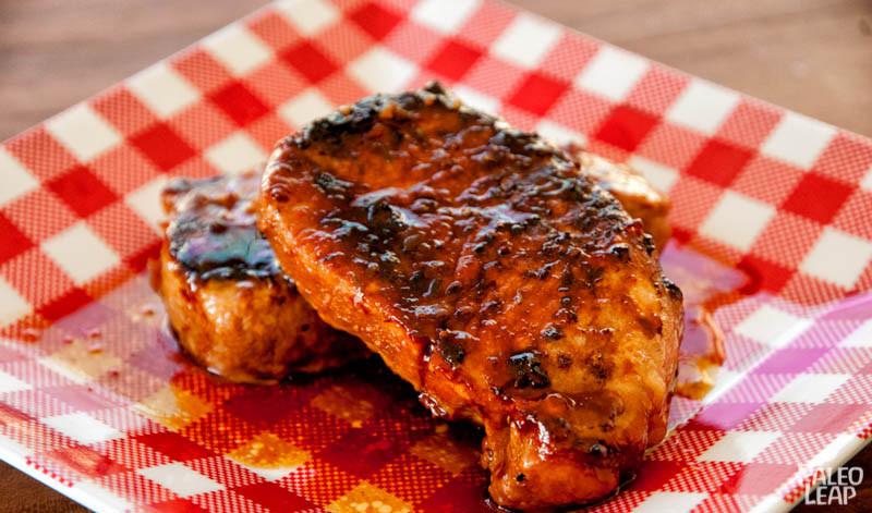 Paleo Pork Chops  Pork Chops in Sweet Sauce