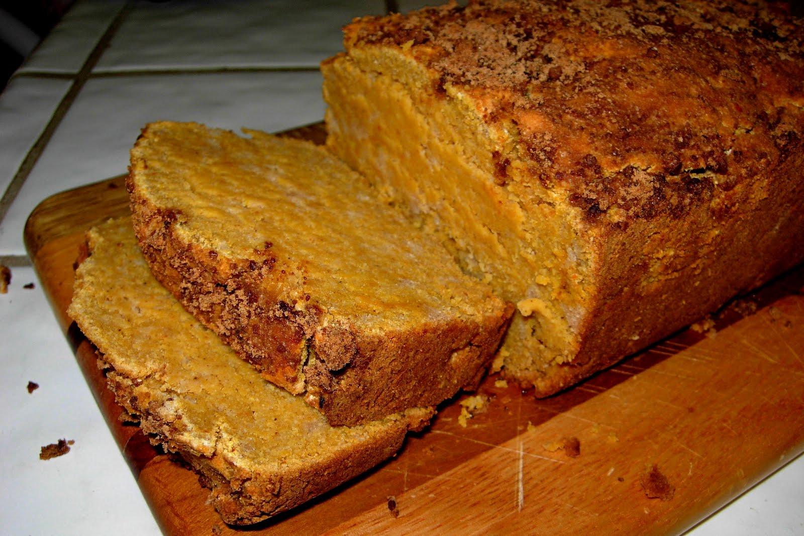 Paleo Pumpkin Bread  CFSCC presents EAT THIS Paleo Pumpkin Bread