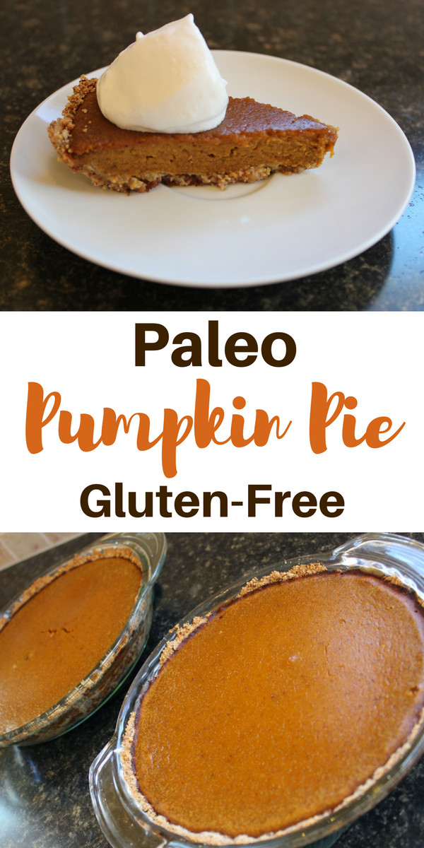 Paleo Pumpkin Pie  FitViews Paleo Holiday Recipe Primal Pumpkin Pie