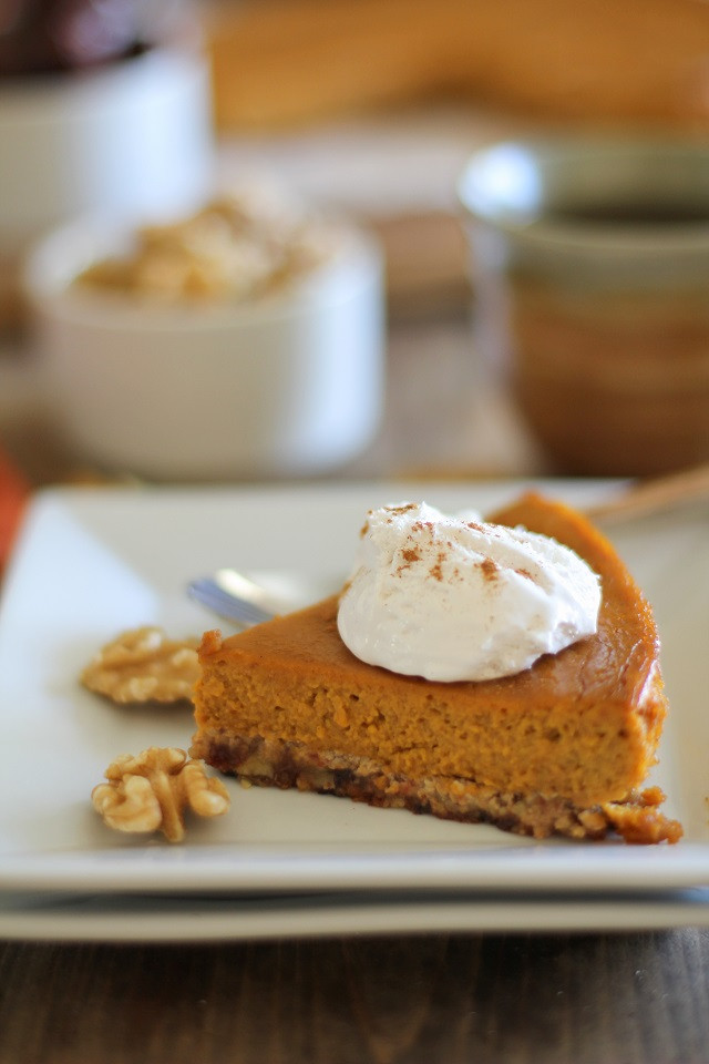 Paleo Pumpkin Pie  Paleo Pumpkin Pie The Roasted Root