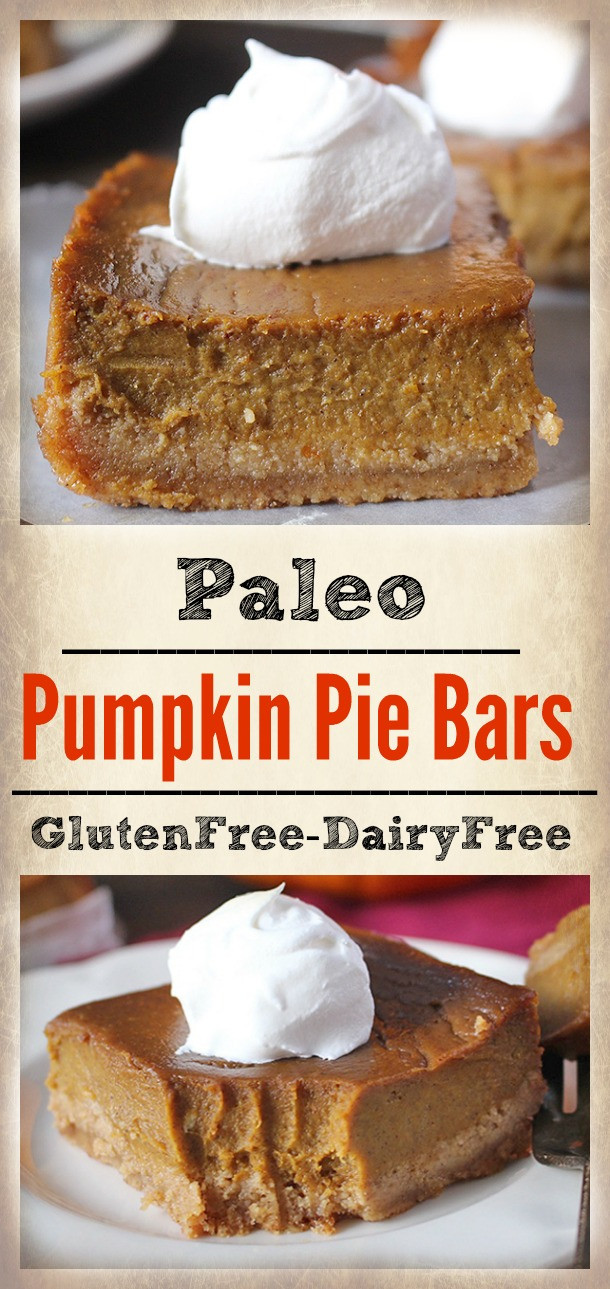Paleo Pumpkin Pie  Paleo Pumpkin Pie Bars Jay s Baking Me Crazy