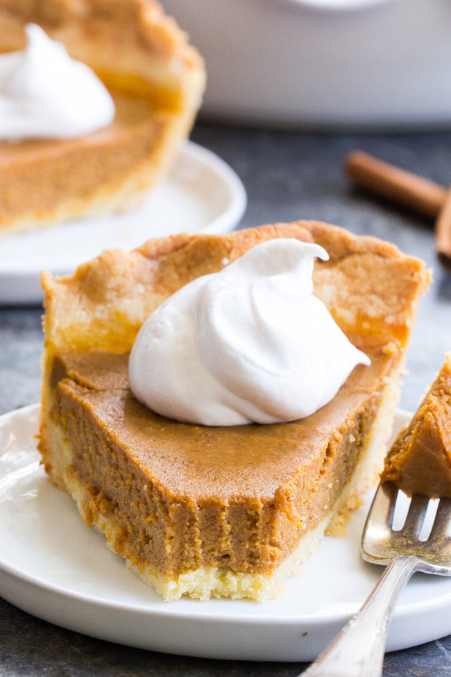 Paleo Pumpkin Pie  Classic Paleo Pumpkin Pie with Crust Recipe