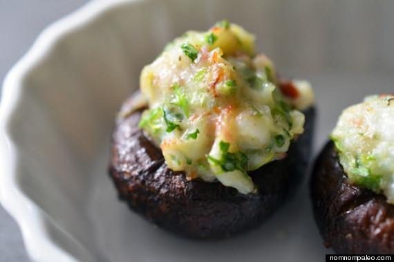 Paleo Stuffed Mushrooms  Nom Nom Paleo Teaches Us Diet Recipes From Shrimp Stuffed
