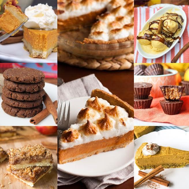 Paleo Thanksgiving Dessert  55 Paleo Thanksgiving Desserts Oh Snap Let s Eat