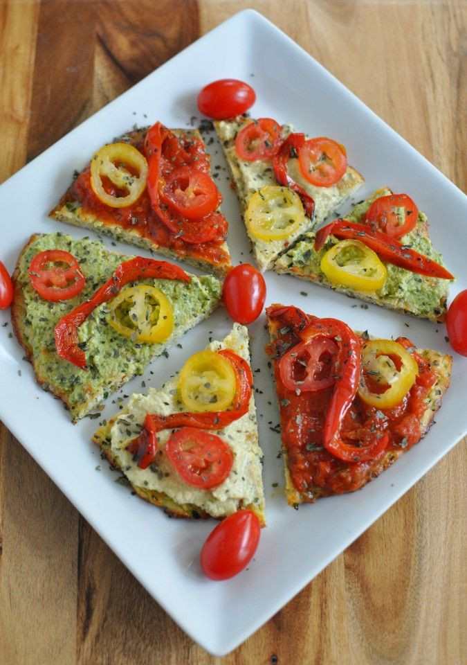 Paleo Vegan Recipes  Paleo Vegan Zucchini Pizza Crust Recipe
