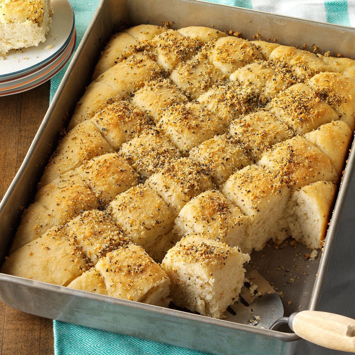 Pan Bread Recipe  Herbed Oatmeal Pan Bread Recipe