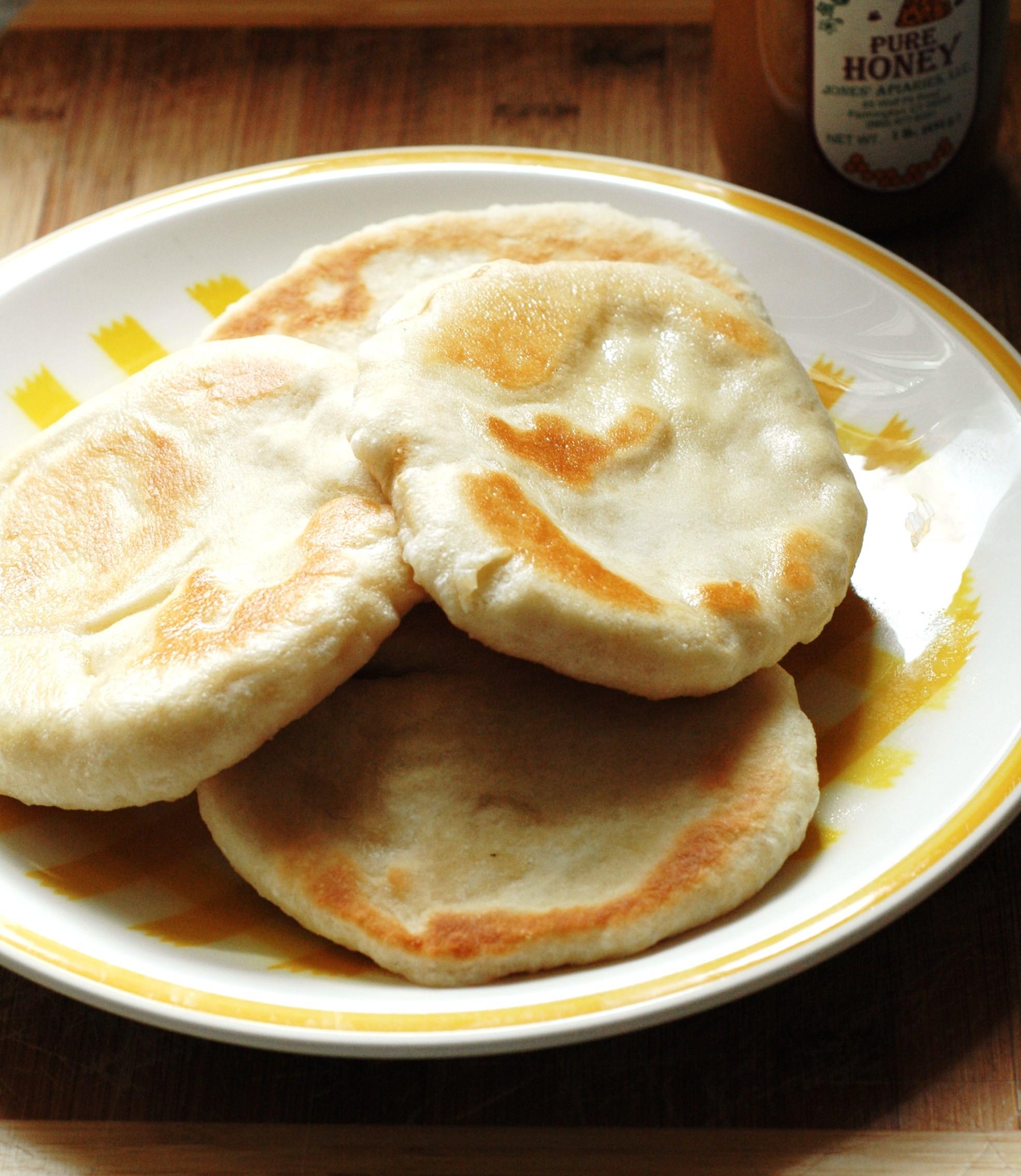 Pan Bread Recipe  pan fried bread recipe
