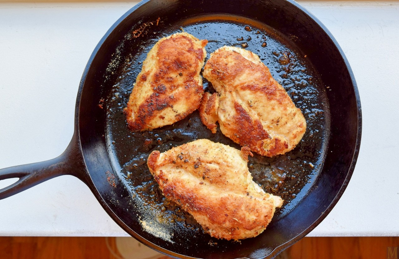Pan Fried Chicken  Pan Fried Chicken Breasts Dredge without Drudgery Make
