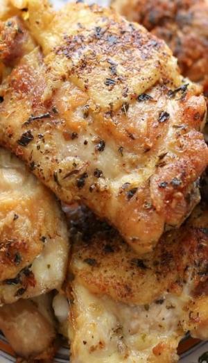 Pan Fried Chicken Thighs  Pan fried Lemongrass Chicken Wings