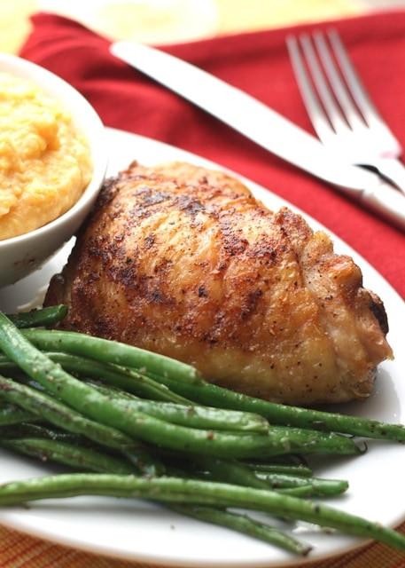 Pan Fried Chicken Thighs  Weekly Meal Plan Week 97