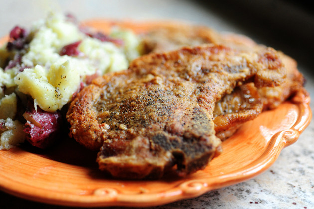 Pan Fried Thin Pork Chops  How to Get Six Meals From e Cut of Meat This Pilgrim Life
