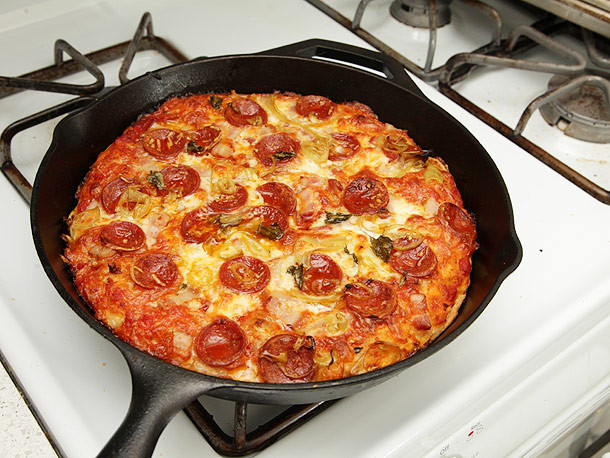 Pan Pizza Dough Recipe  Gallery The Pizza Lab Foolproof Pan Pizza