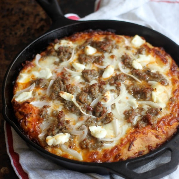 Pan Pizza Dough Recipe  How to Make Pan Pizza with Crispy Crust