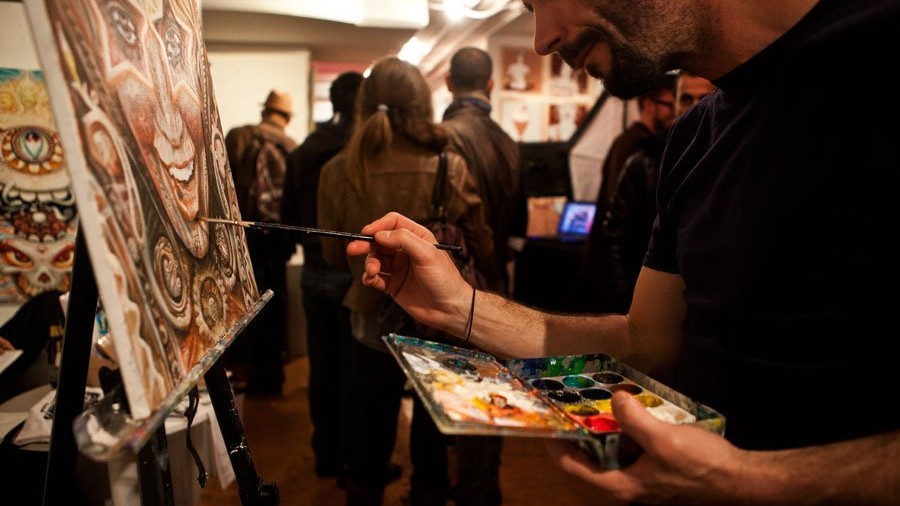 Pancakes And Booze  Event 10 9 – Pancakes & Booze Art Show