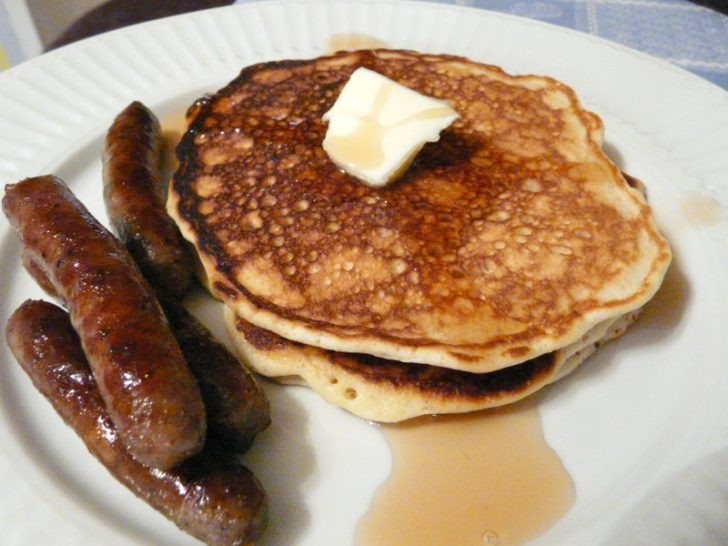 Pancakes And Sausage  Pancakes And Sausage Cake Ideas