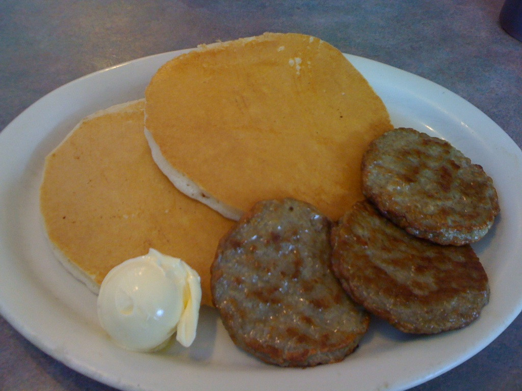 Pancakes And Sausage  Rochester Westside Grub Two Brothers Family Restaurant