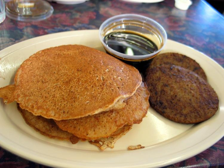 Pancakes And Sausage  Dwyer s Cafe