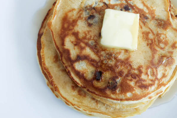 Pancakes For One  Coconut Chocolate Chip Pancakes for e Confessions of a