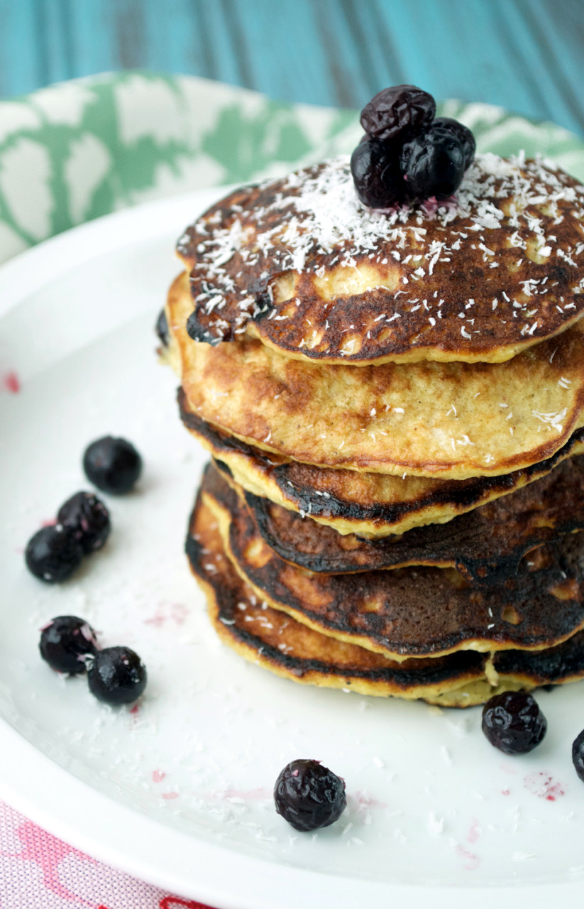 Pancakes For One  Paleo Banana Pancakes for e