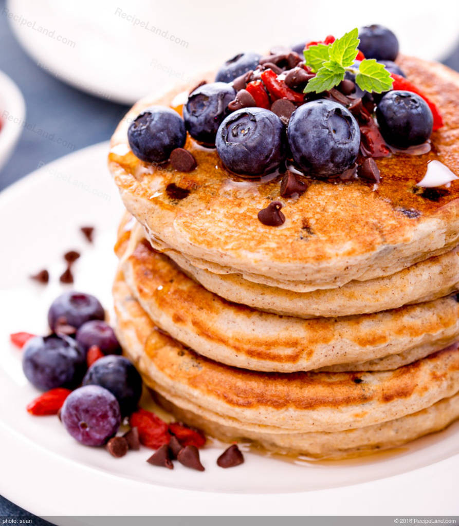 Pancakes For One  Healthy Whole Wheat Pancakes for e Recipe