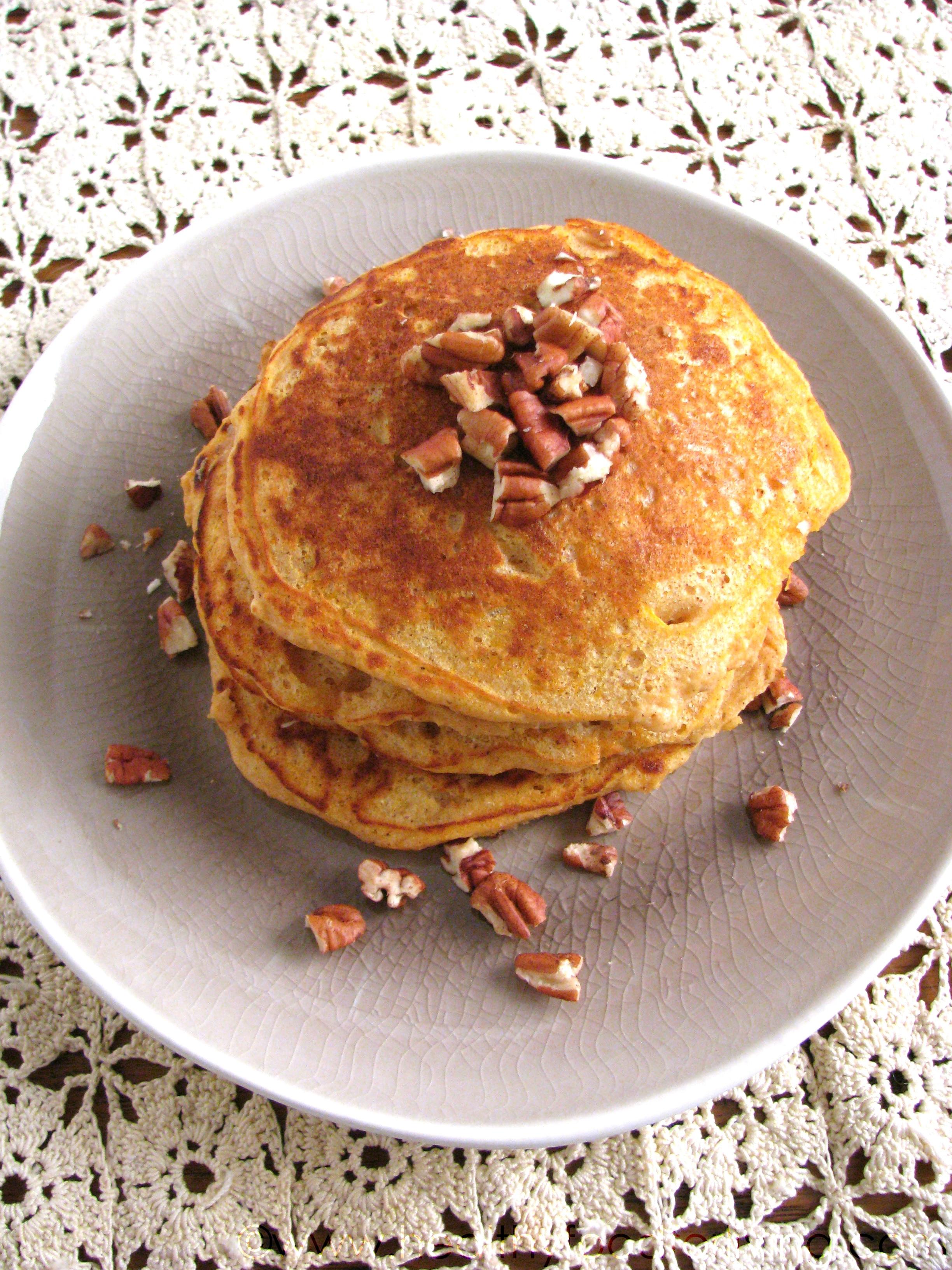 Pancakes For One  Sweet Potato Pie Pancakes for e