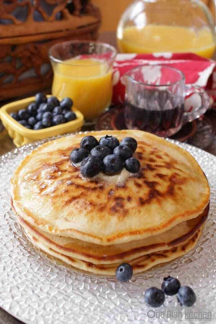 Pancakes For One  How To Make Pancakes For e e Dish Kitchen
