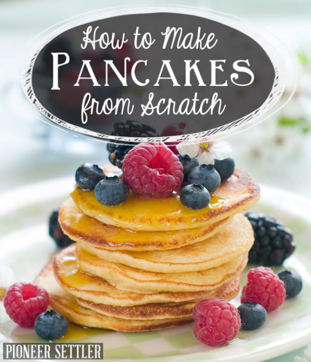 Pancakes From Scratch Recipe  How to Make Pancakes from Scratch