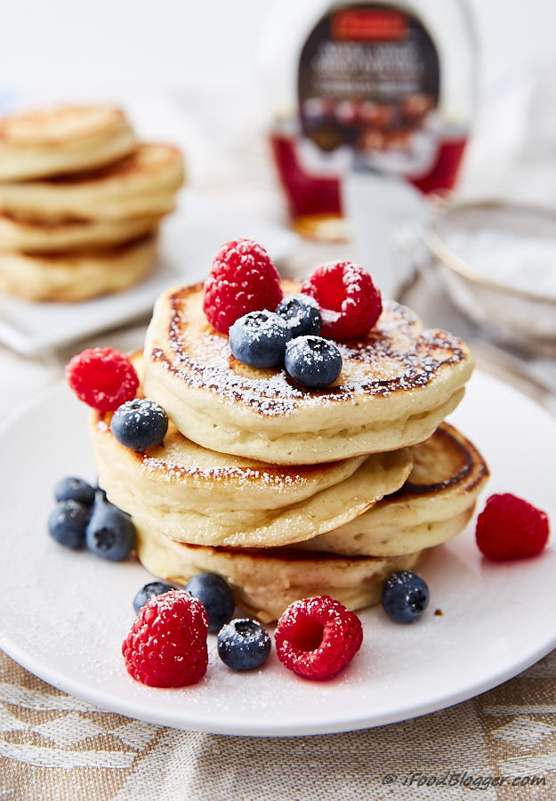 Pancakes From Scratch Recipe  Recipes for buttermilk pancakes from scratch Food cake