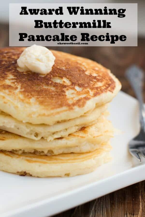 Pancakes From Scratch Recipe  best pancake recipe from scratch