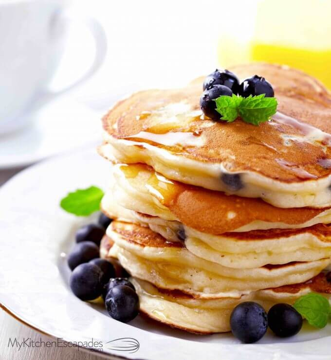 Pancakes From Scratch Recipe  easy pancakes from scratch