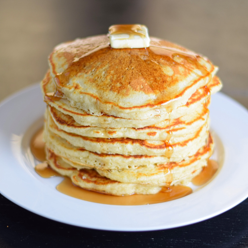 Pancakes From Scratch Recipe  The Secret to Perfect Buttermilk Pancakes from Scratch