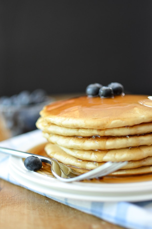 Pancakes No Milk  Extra Fluffy Dairy Free Pancakes Simply Whisked