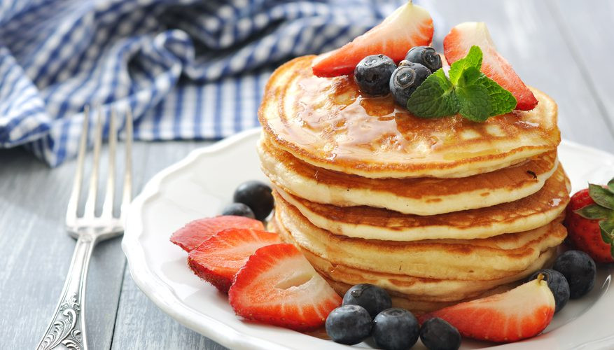 Pancakes No Milk  How to Make Homemade Pancakes Without Milk
